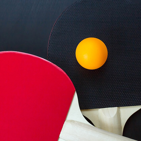 Are you good at ping pong?